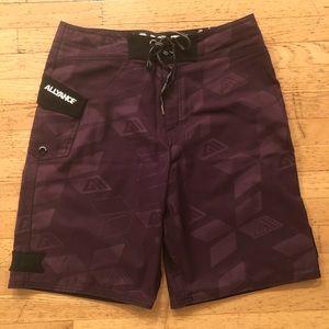 Allyance Men's Purple Board Shorts